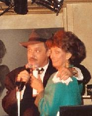 Wayne Powers with Joanie Sommers