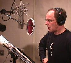 "Wayne Powers recording ""Tale of Tillie's Dragon II"""