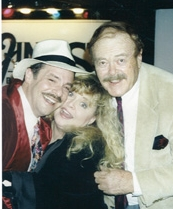 Wayne Powers with Sally Struthers and Pat McCormick